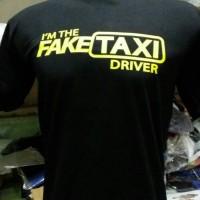 tshirt/t shirt/kaos fake taxi driver