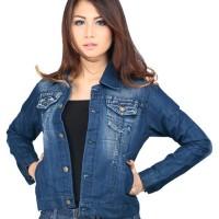 jaket jeans wanita/distro bandung/cibaduyut/grosir cibaduyut/ jaket