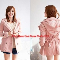 Jaket Blazer Coat Korea Yurika Pink