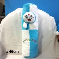 Jual Guling kecil biru-putih boneka doraemon Murah