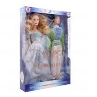 Boneka Cinderella dan Pangeran Kit