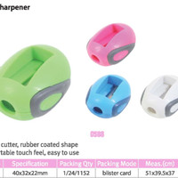 Pencil Sharpener Fancy DELI Kode Produk 0588
