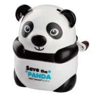 Panda Rotary Pencil Sharpener Fancy DELI Kode Produk 0518