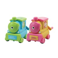 Train Rotary Pencil Sharpener DELI Kode Produk 0614