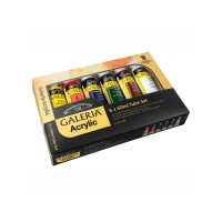 GALERIA Acrylic Paint 6 x 60ml Tube Set