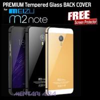 harga Premium Tempered Glass Back Cover Meizu M2 Note (+free Sp) Tokopedia.com