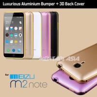 harga Bumper Meizu M2 Note: Luxury Armor Bumper With 3d Curved Pc Back Cover Tokopedia.com