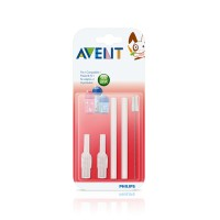 Jual Philips Avent Replacement Straw and Brush Set / Sedotan Anak BPA Free Murah
