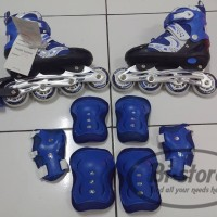 Sepatu roda + dekker inline superb size S M L harga grosir mantap
