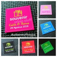 Kupon Souvenir (Wedding Gift Coupon) Custom NAMA & TANGGAL