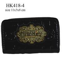 Dompet Koin & Kunci Hello Kitty Hitam HK418-4