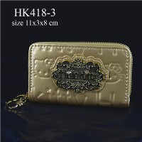 Dompet Koin & Kunci Hello Kitty Gold HK418-3
