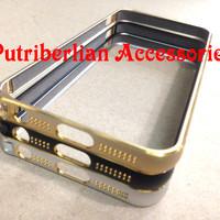 Apple iPhone 5/5S Aluminium Bumper Metal Case Frame List Gold Cover