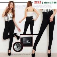 harga Jeans High Waist Hitam Wanita Tokopedia.com