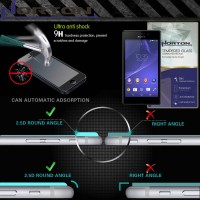 Antigores Kaca Norton Tempered Glass Sony Xperia M2 - M2 Dual -m2 Aqua