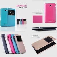 Flipcase Nillkin Sparkle Leather Flip Case Cover Sony Xperia E4 / Dual