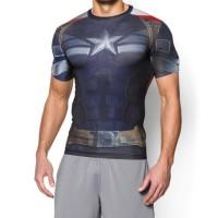 Kaos Tshirt Under Armour AlterEgo Captain America Winter Soldier