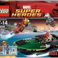 LEGO 76006 Super Heroes : Iron Man Extremis Sea Port Battle