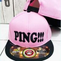 Topi Snapback PING !!!