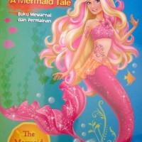 Buku Mewarnai dan Permainan Anak : The Mermaid Princess