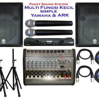 Harga paket sound system multi fungsi kecil simple yamaha | Pembandingharga.com