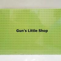 Baseplate Lego base plate - Wange 56 x 28 dots Green