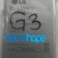 Baterai Battery Batre Lg G3 G-3 ( Bl-53yh ) G3 Stylus Original