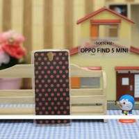 Case HP Custom Softcase Oppo Find 5 Mini Red Polkadot