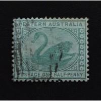 harga AUSTRALIA - perangko kuno SWAN ONE HALF PENNY . Tokopedia.com