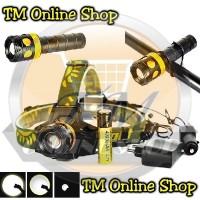harga Senter Kepala + Tangan + Sepeda ( Headlamp Police Swat Multifungsi ) Tokopedia.com