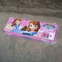 Tempat Pensil Premium Set Rautan Karakter Sofia The First /Stationery