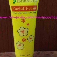 Facial Foam Esther Tube / Facial Foam Ester Tube / Sabun Esther / Sabun Ester