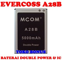 Baterai Evercoss A28B Double Power M COM
