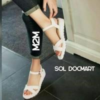 harga sandal sepatu docmart wanita cantik lucu Tokopedia.com