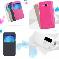 Flipcase Nillkin Leather Flip Book Cover Casing Case Samsung Galaxy J5