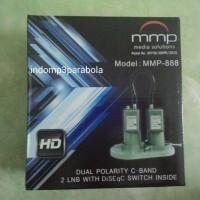 Lnb C Band 2in1 / Palapa Telkom, Merk MMP