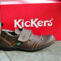 harga Sepatu Casual Pria Kickers Prepet Brown Tokopedia.com