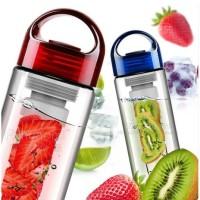 Jual tritan bottle infused water travel botol minum fruit infuser bukan 2nd Murah