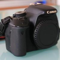 Canon 600D Body Only 2nd (HANYA BODY)