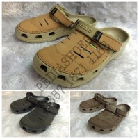 Sandal Clog Crocs Yukon Leather Original (GROSIR dan ECERAN)