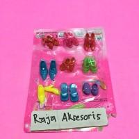 harga Mainan Sepatu Barbie Aksesoris Barbie Size S Tokopedia.com