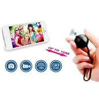 Tomsis Ipega Bluetooth Remote Control Self Timer for Smartphone- Black