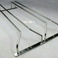 harga Rak Gelas Gantung 2 Baris Stainlest / Glass Folder Tokopedia.com