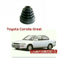 Karet Boot As Roda Toyota Corolla Great 1992-1996