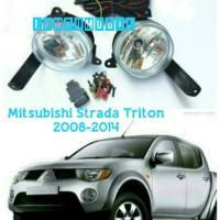 harga Fog Lamp Set Mitsubishi Strada Triton 2008-2014 Tokopedia.com