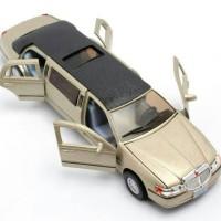 miniatur mobil limousine limo diecast hadiah anak mobilan