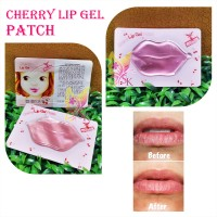 Etude House Cherry Lip Gel Patch Skin Kiss mask bibir pink gel