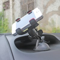 harga Mount Holder Berputar Rotate For Universal Car Hp Holder Double Clips Tokopedia.com