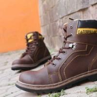 Sepatu Caterpillar Boot Trail Coklat