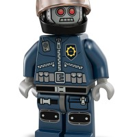 Robo Swat Helm - Lego Movie 70819 Bad Cop Car Chase